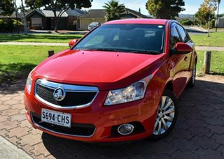 2014 Holden Cruze JH Series II MY14 SRi Z Series Red 6 Speed Sports Automatic Sedan.