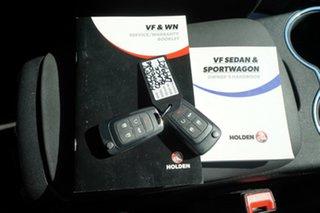 2016 Holden Commodore Vfii MY16 SV6 Black Edition Black 6 Speed Automatic Sedan