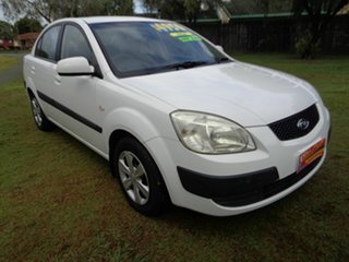 2010 Kia Rio JB MY10 SI White 5 Speed Manual Sedan
