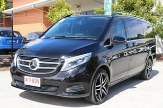 2016 Mercedes-Benz V-Class 447 V250 d 7G-Tronic + Avantgarde Black 7 speed Automatic Wagon.