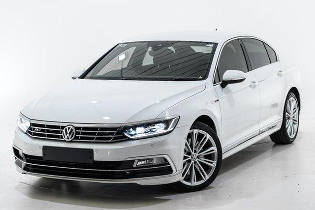 Used Volkswagen Passat 3C (B8) MY18 206TSI DSG 4MOTION R-Line Berwick, 2018 Volkswagen Passat 3C (B8) MY18 206TSI DSG 4MOTION R-Line White 6 Speed