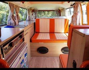 1973 Volkswagen Transporter Kombi Type 2 Orange 3 Speed Automatic Van