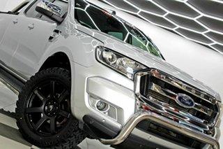 2018 Ford Ranger PX MkII MY18 XLT 3.2 Hi-Rider (4x2) (5 Yr) Silver 6 Speed Automatic Crew Cab Pickup.