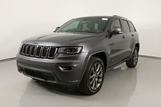 2017 Jeep Grand Cherokee WK MY16 75th Anniversary (4x4) Grey 8 Speed Automatic Wagon.