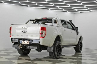 2012 Ford Ranger PX XL 3.2 (4x4) White 6 Speed Manual Double Cab Pick Up