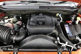 2015 Holden Colorado RG MY15 LTZ Storm (4x4) Orange 6 Speed Manual Crew Cab Pickup