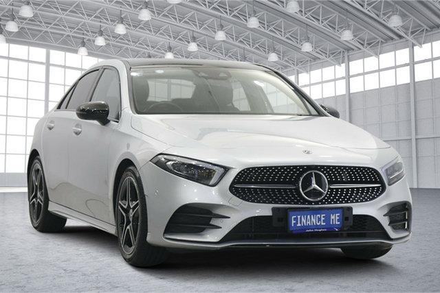Used Mercedes-Benz A-Class V177 A200 DCT Victoria Park, 2019 Mercedes-Benz A-Class V177 A200 DCT Silver 7 Speed Sports Automatic Dual Clutch Sedan