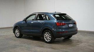 2016 Audi Q3 8U MY17 TDI S Tronic Quattro Blue 7 Speed Sports Automatic Dual Clutch Wagon.