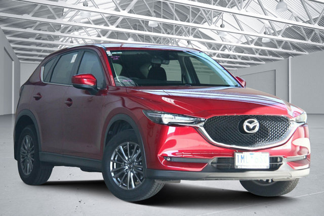 Used Mazda CX-5 MY17 Maxx Sport (4x4) Altona North, 2017 Mazda CX-5 MY17 Maxx Sport (4x4) Red 6 Speed Automatic Wagon