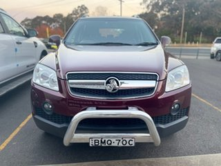 2009 Holden Captiva LX Maroon Sports Automatic Wagon.