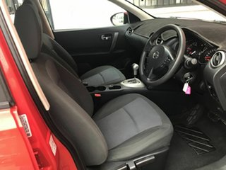 2011 Nissan Dualis J10 Series II MY2010 ST Hatch X-tronic Red 6 Speed Constant Variable Hatchback