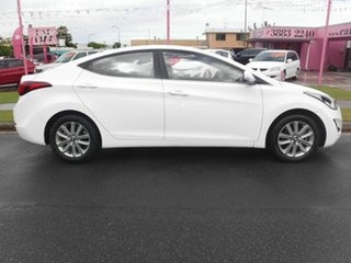 2014 Hyundai Elantra MD3 SE White 6 Speed Automatic Sedan.