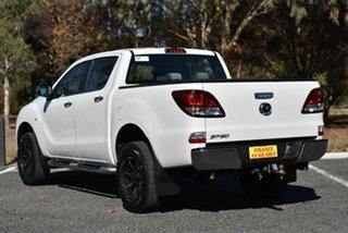 2016 Mazda BT-50 UR0YF1 XTR 4x2 Hi-Rider White 6 Speed Manual Utility