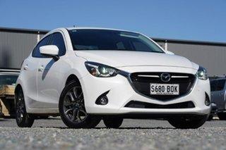 2016 Mazda 2 DJ2HAA Genki SKYACTIV-Drive White 6 Speed Sports Automatic Hatchback.