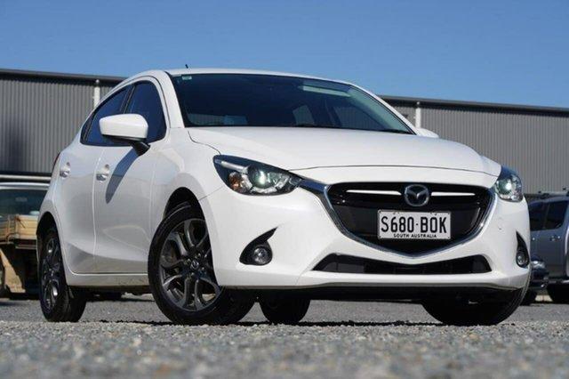 Used Mazda 2 DJ2HAA Genki SKYACTIV-Drive Clare, 2016 Mazda 2 DJ2HAA Genki SKYACTIV-Drive White 6 Speed Sports Automatic Hatchback