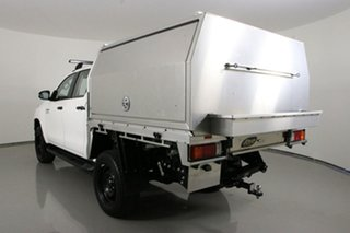 2020 Toyota Hilux GUN126R MY19 Upgrade SR (4x4) White 6 Speed Automatic Double Cab Chassis
