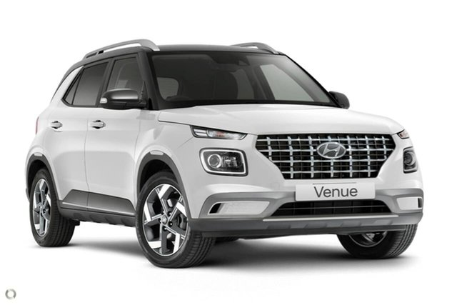 New Hyundai Venue QX.V3 MY21 Elite Oakleigh, 2021 Hyundai Venue QX.V3 MY21 Elite White 6 Speed Automatic Wagon