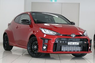 2021 Toyota Yaris GR Gxpa16R GR Feverish Red 6 Speed Manual Hatchback.