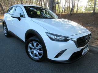 2018 Mazda CX-3 DK2W7A Neo SKYACTIV-Drive White 6 Speed Sports Automatic Wagon.