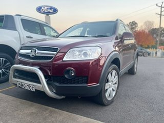 2009 Holden Captiva LX Maroon Sports Automatic Wagon