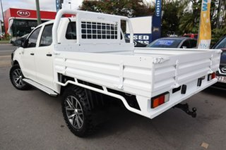 2011 Toyota Hilux KUN26R MY12 SR Double Cab 5 Speed Manual Cab Chassis