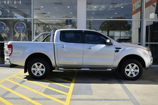 2012 Ford Ranger PX XLT Double Cab 4x2 Hi-Rider Silver 6 Speed Sports Automatic Utility