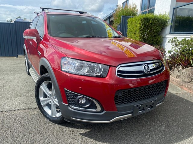Used Holden Captiva CG MY15 7 AWD LTZ Slacks Creek, 2014 Holden Captiva CG MY15 7 AWD LTZ Red 6 Speed Sports Automatic Wagon