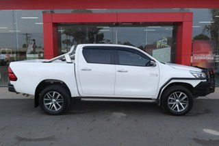 2020 Toyota Hilux GUN126R SR5 Double Cab White 6 Speed Sports Automatic Utility.