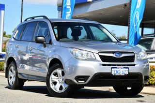2014 Subaru Forester S4 MY14 2.0i AWD Ice Silver 6 Speed Manual Wagon.