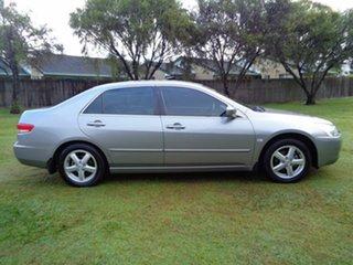 2005 Honda Accord 7th Gen VTi Grey 5 Speed Automatic Sedan.
