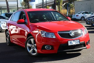 2013 Holden Cruze JH Series II MY13 SRi Red Hot 6 Speed Manual Hatchback.