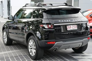 2014 Land Rover Range Rover Evoque L538 MY14 Pure Black 9 Speed Sports Automatic Wagon.
