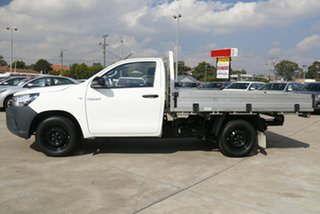 2020 Toyota Hilux TGN121R Workmate 4x2 Glacier White 6 Speed Automatic Cab Chassis