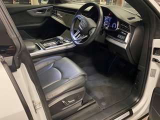 2019 Audi Q8 4M MY19 55 TFSI Quattro Mhev Glacier White 8 Speed Automatic Tiptronic Wagon