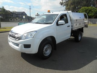 2016 Isuzu D-MAX TF MY15.5 SX HI-Ride (4x2) White 5 Speed Automatic Cab Chassis.