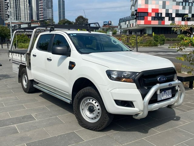 Used Ford Ranger PX MkII XL Hi-Rider South Melbourne, 2016 Ford Ranger PX MkII XL Hi-Rider White 6 Speed Sports Automatic Cab Chassis