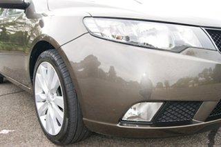 2009 Kia Cerato TD SLi Grey 4 Speed Automatic Sedan.