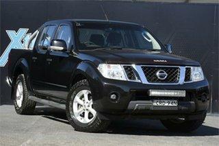 2014 Nissan Navara D40 S7 ST 4x2 Black 6 Speed Manual Utility.
