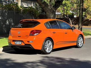 2013 Holden Cruze JH Series II MY14 SRi-V Orange 6 Speed Sports Automatic Hatchback