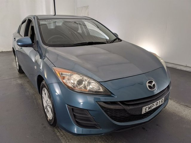 Used Mazda 3 BL10F1 Maxx Maryville, 2009 Mazda 3 BL10F1 Maxx Blue 6 Speed Manual Sedan