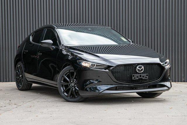 Demo Mazda 3 BP2H76 G20 SKYACTIV-MT Pure Mornington, 2020 Mazda 3 BP2H76 G20 SKYACTIV-MT Pure Jet Black 6 Speed Manual Hatchback