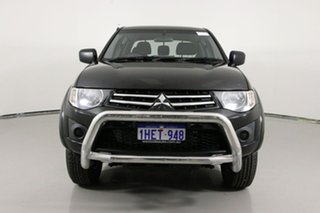 2014 Mitsubishi Triton MN MY14 Update GLX Black 4 Speed Automatic Double Cab Utility.