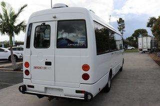 2014 Mitsubishi Fuso Rosa BE64D White Automatic Midi Coach