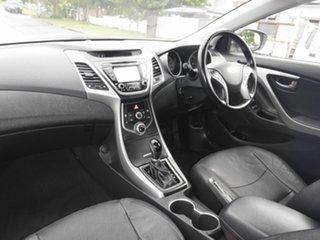 2014 Hyundai Elantra MD3 SE White 6 Speed Automatic Sedan