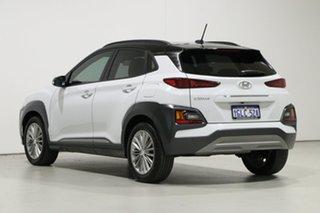 2017 Hyundai Kona OS Elite (FWD) White 6 Speed Automatic Wagon