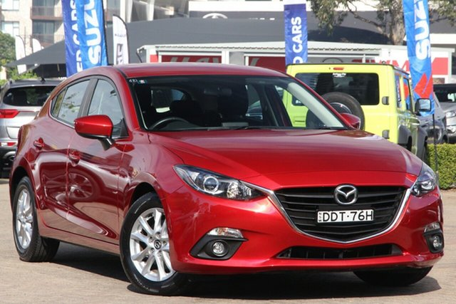 Used Mazda 3 BN MY17 Maxx Rosebery, 2016 Mazda 3 BN MY17 Maxx Red 6 Speed Automatic Hatchback
