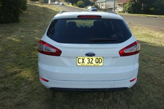 2013 Ford Mondeo MC LX PwrShift TDCi White 6 Speed Sports Automatic Dual Clutch Wagon