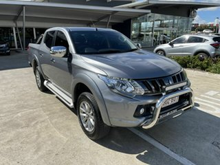 2018 Mitsubishi Triton MQ MY18 GLS Double Cab Grey 5 Speed Sports Automatic Utility.