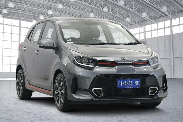 Used Kia Picanto JA MY20 GT-Line Victoria Park, 2020 Kia Picanto JA MY20 GT-Line Grey 4 Speed Automatic Hatchback