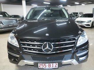 2013 Mercedes-Benz M-Class W166 ML250 BlueTEC 7G-Tronic + Black 7 Speed Sports Automatic Wagon